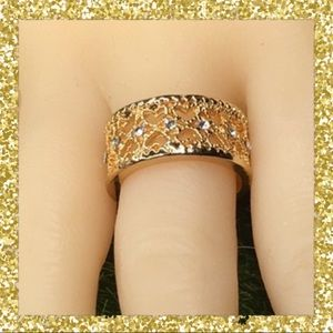 Jewelry - Gold Plated Heart Ring